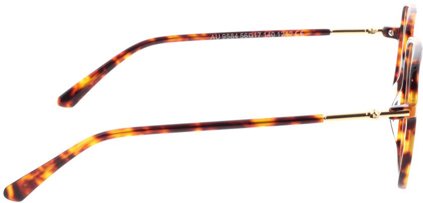 Picture of glasses model Donna bruin-gevlekt in angle 90