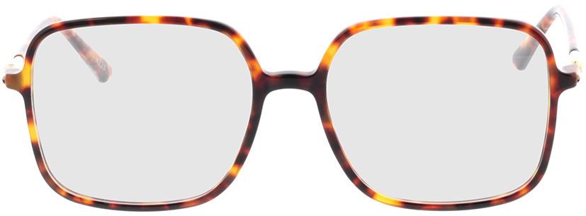 Picture of glasses model Donna bruin-gevlekt in angle 0