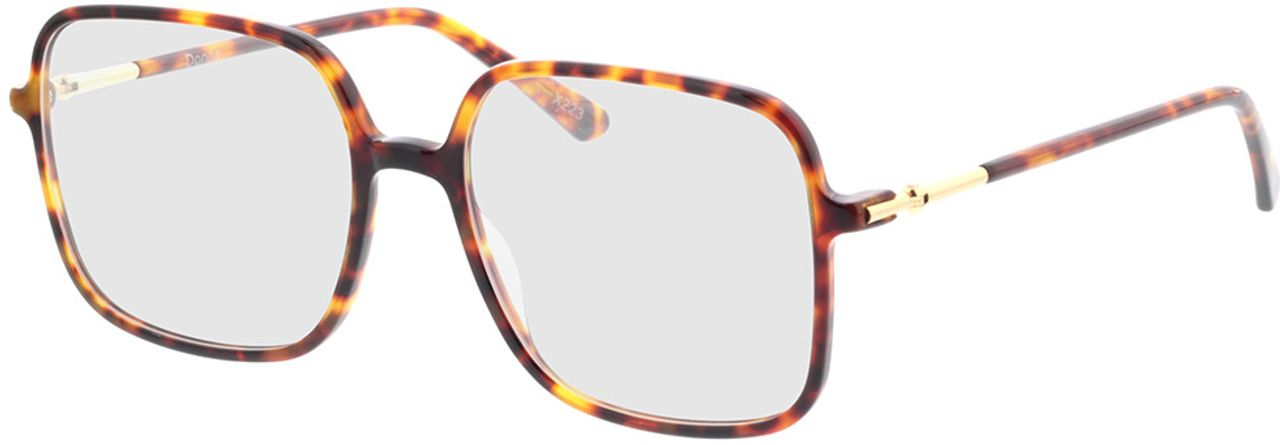 Picture of glasses model Donna-braun-meliert in angle 330