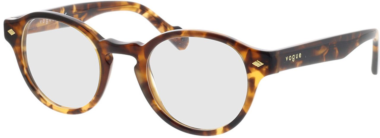 Picture of glasses model Vogue VO5332 2819 46-22 in angle 330