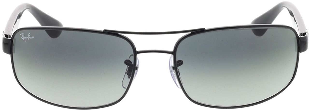 Picture of glasses model Ray-Ban RB3445 002/71 61-17 in angle 0