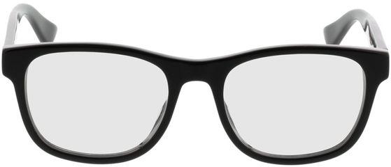 Picture of glasses model Gucci GG0004O-001 53-19 in angle 0