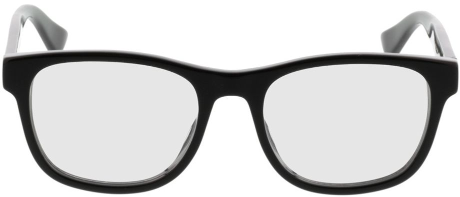 Picture of glasses model Gucci GG0004O-001 53-19 in angle 0