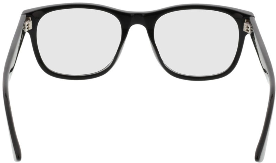 Picture of glasses model Gucci GG0004O-001 53-19 in angle 180