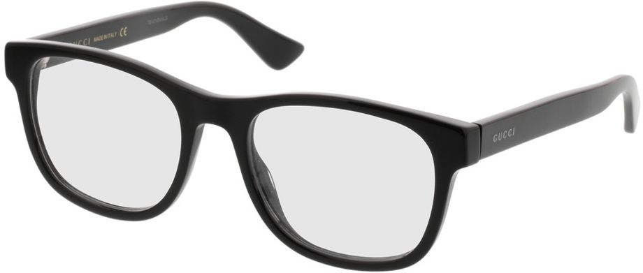 Picture of glasses model Gucci GG0004O-001 53-19 in angle 330
