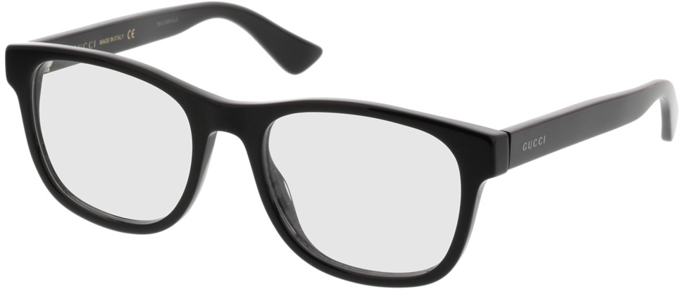 Picture of glasses model Gucci GG0004O-001 53-19 in angle 330