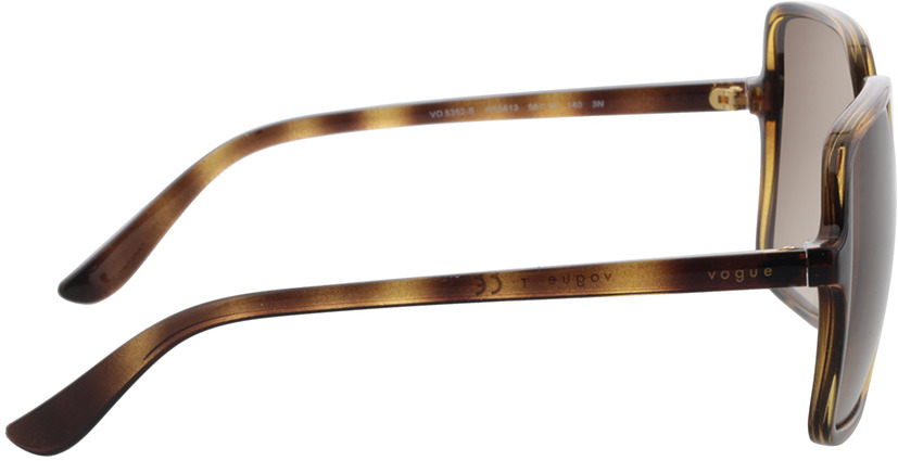 Picture of glasses model Vogue VO5352S W65613 56-16 in angle 90