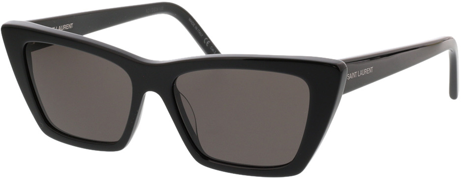 Picture of glasses model Saint Laurent SL 276 MICA-001 53-16 in angle 330