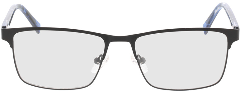 Picture of glasses model Gemino-matt schwarz  in angle 0