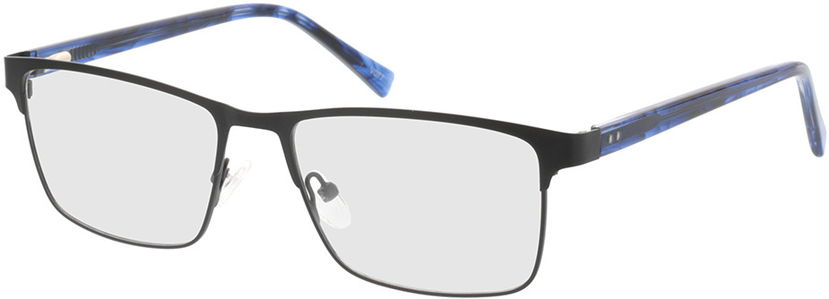 Picture of glasses model Gemino-matt schwarz  in angle 330