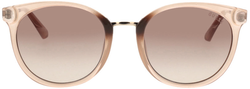 Picture of glasses model Guess GU7459 57F 52-20 in angle 0