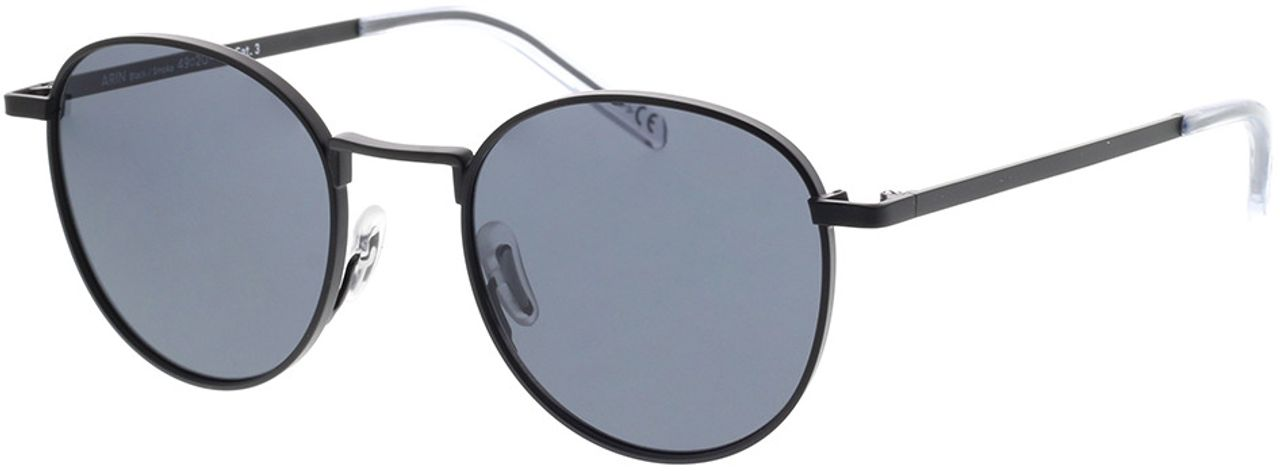 Picture of glasses model TAKE A SHOT Arin: Black 49-20 in angle 330