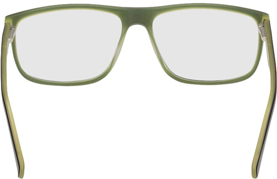 Picture of glasses model Taupo-black-green in angle 180