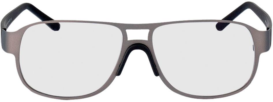 Picture of glasses model Palmdale Cinzento/preto in angle 0