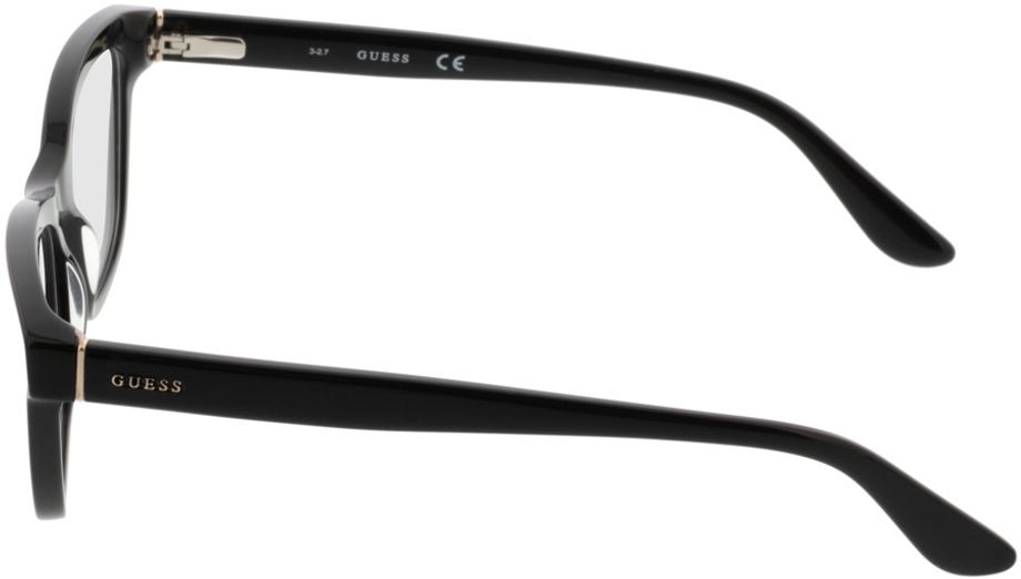 Picture of glasses model Guess GU2649 002 51-18 in angle 270