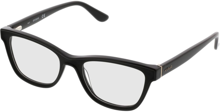 Picture of glasses model Guess GU2649 002 51-18 in angle 330
