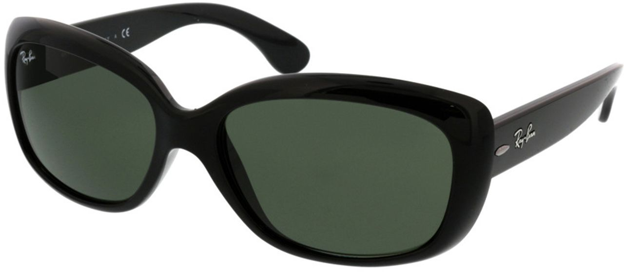 Picture of glasses model Ray-Ban Jackie Ohh RB4101 601 58-18 in angle 330