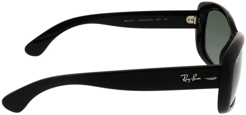 Picture of glasses model Ray-Ban Jackie Ohh RB4101 601 58-18 in angle 90