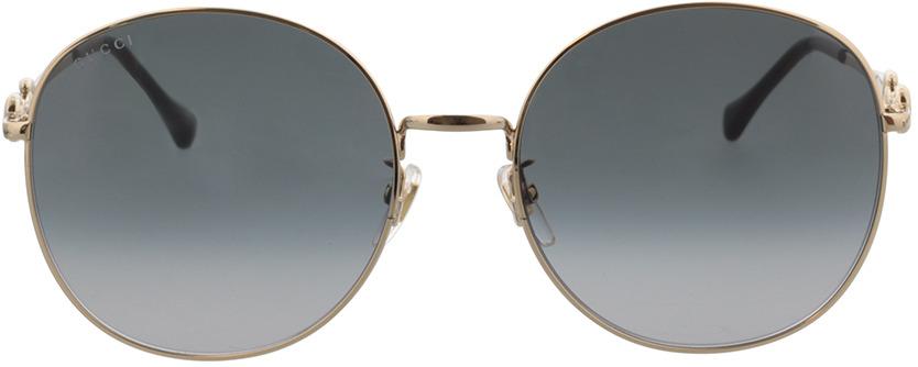 Picture of glasses model Gucci GG0881SA-001 59-19 in angle 0