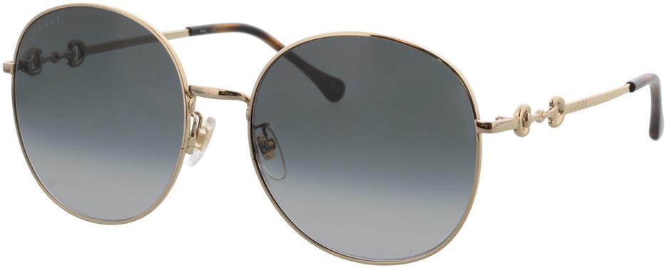Picture of glasses model Gucci GG0881SA-001 59-19 in angle 330