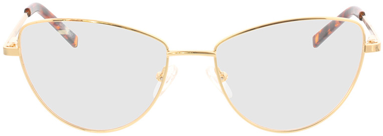 Picture of glasses model Elea-gold in angle 0