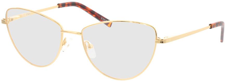 Picture of glasses model Elea-gold in angle 330