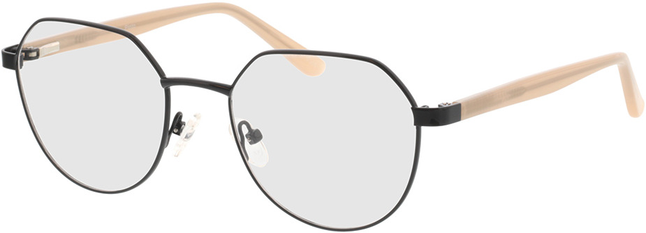 Picture of glasses model Pinto-noir/beige in angle 330