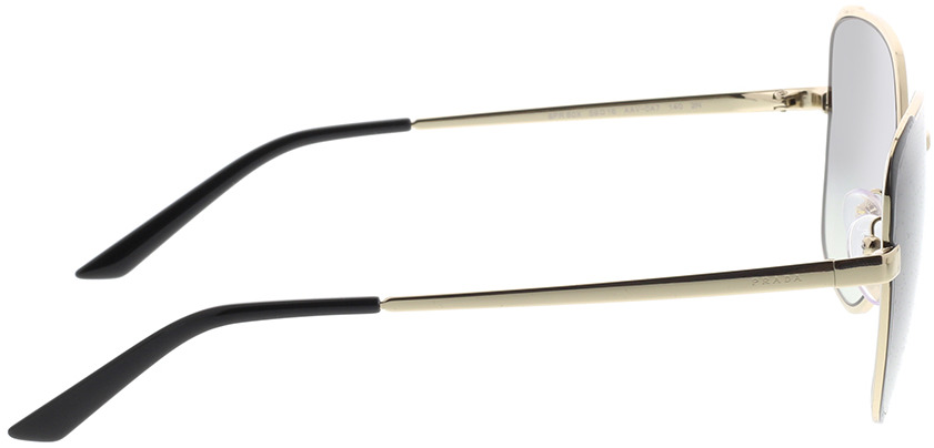 Picture of glasses model Prada PR 60XS AAV0A7 59-16 in angle 90