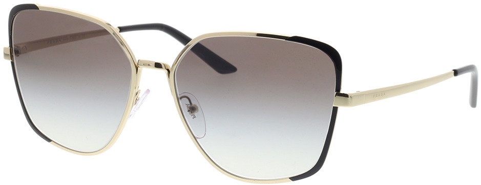 Picture of glasses model Prada PR 60XS AAV0A7 59-16 in angle 330