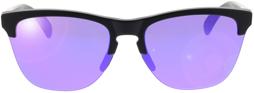 Picture of glasses model Oakley Frogskins Lite OO9374 31 63-10 in angle 0