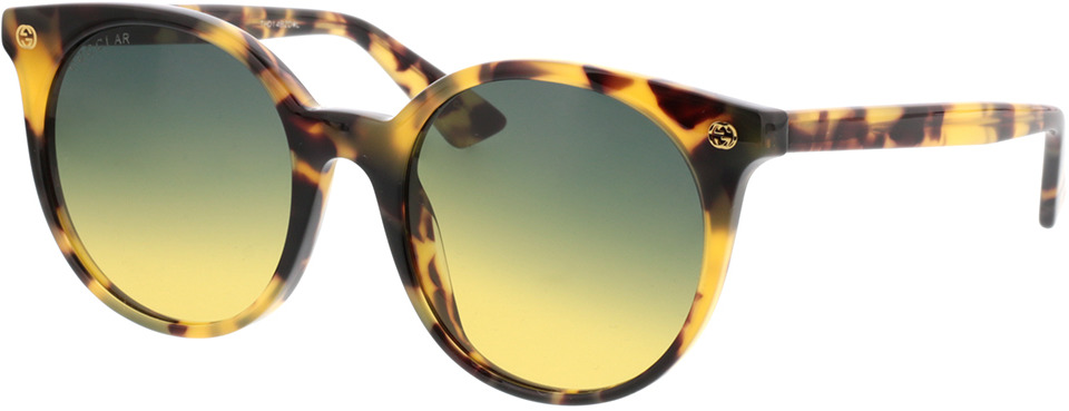 Picture of glasses model Gucci GG0091S-003 52-20 in angle 330