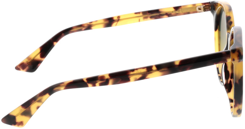 Picture of glasses model Gucci GG0091S-003 52-20 in angle 90