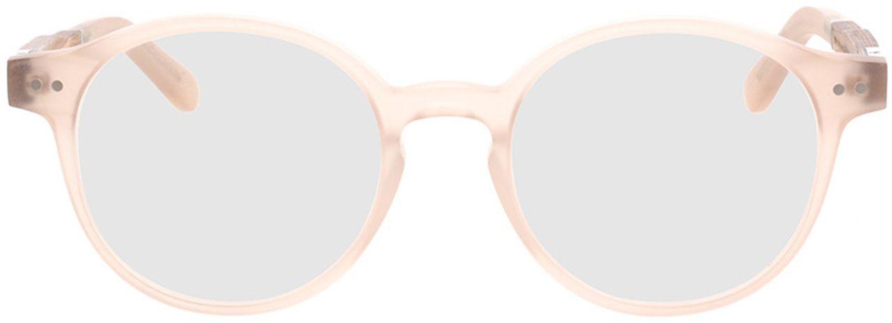 Picture of glasses model Wood Fellas Optical Solln Premium walnut/gold 49-19  in angle 0