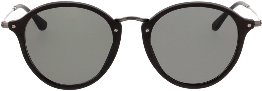 Picture of glasses model Wood Fellas Sunglasses Nymphenburg black oak/grey 51-22 in angle 0