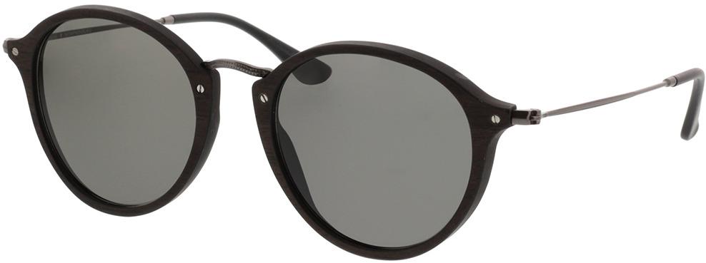 Picture of glasses model Wood Fellas Sunglasses Nymphenburg black oak/grey 51-22 in angle 330