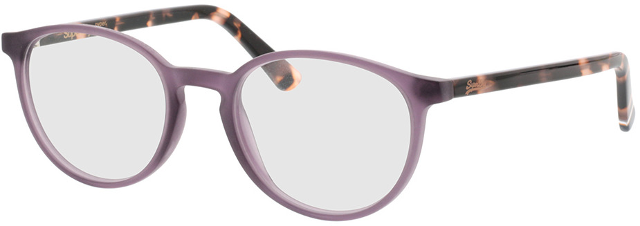 Picture of glasses model Superdry SDO Pyper 161 matte purple/pink tort 50-19 in angle 330