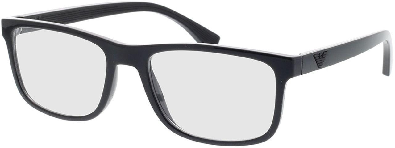 Picture of glasses model Emporio Armani EA3147 5001 55-18 in angle 330