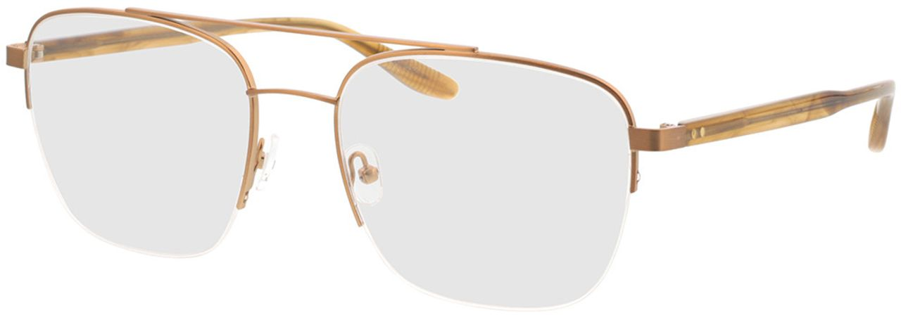 Picture of glasses model Zeus-bronze/braun horn in angle 330