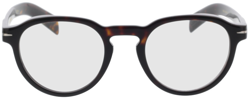 Picture of glasses model David Beckham DB 7021 WR9 48-22 in angle 0
