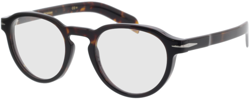 Picture of glasses model David Beckham DB 7021 WR9 48-22 in angle 330