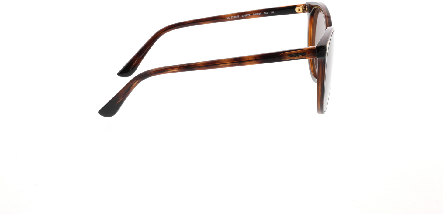 Picture of glasses model Vogue VO5230S 238673 54-21 in angle 90