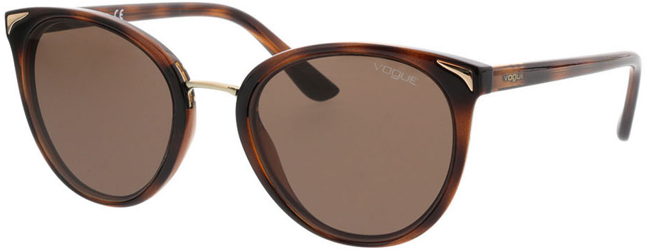 Picture of glasses model Vogue VO5230S 238673 54-21 in angle 330