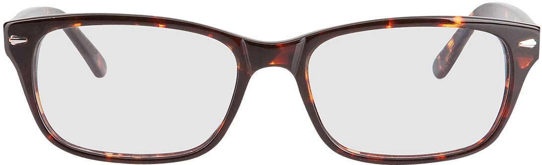 Picture of glasses model Santos-gross-braun meliert in angle 0