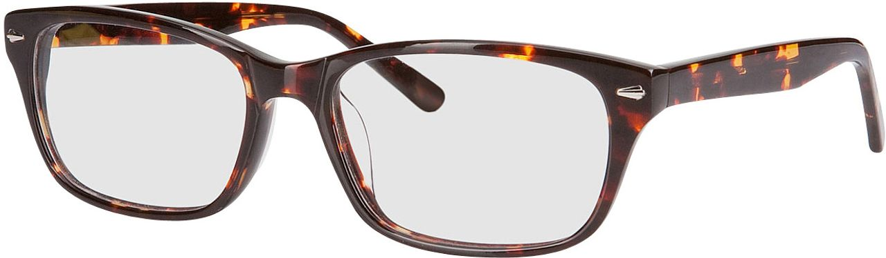 Picture of glasses model Santos brown/mottled in angle 330