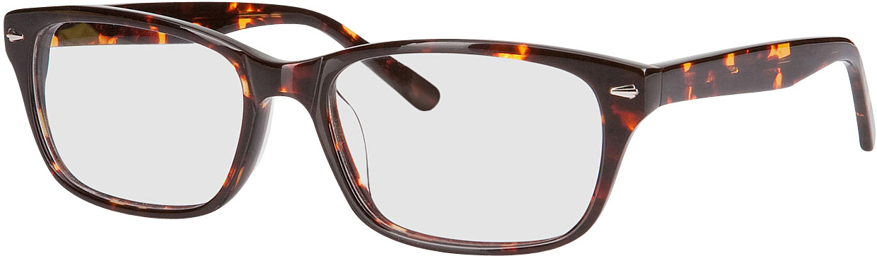 Picture of glasses model Santos-gross-braun meliert in angle 330