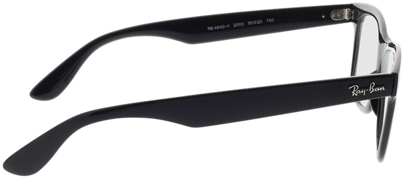 Picture of glasses model Ray-Ban RX4640V 2000 50-20 in angle 90