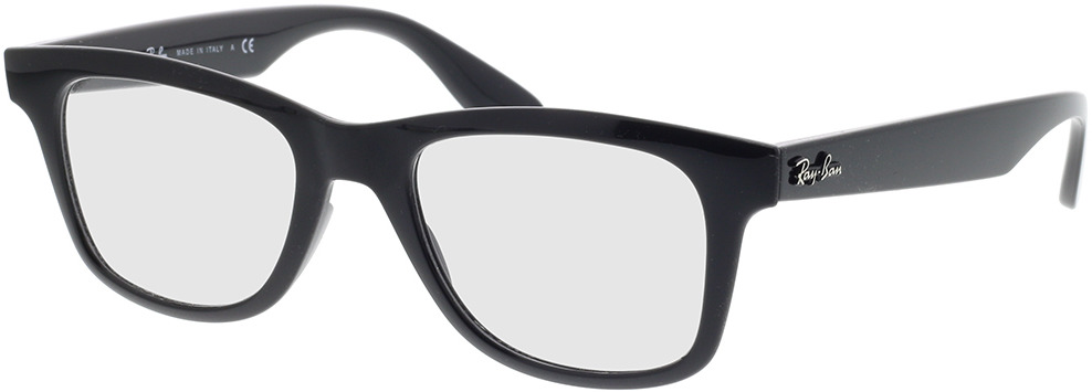 Picture of glasses model Ray-Ban RX4640V 2000 50-20 in angle 330
