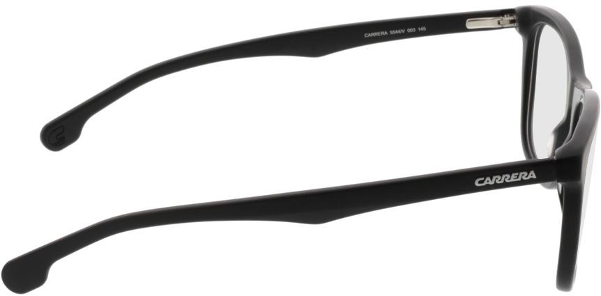 Picture of glasses model Carrera CA5544/V 003 55-19 in angle 90