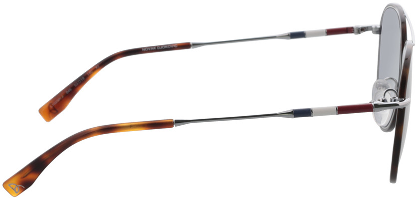 Picture of glasses model Lacoste L102SND 045 53-19 in angle 90