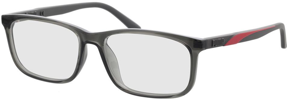 Picture of glasses model Puma PU0333O-002 56-16 in angle 330